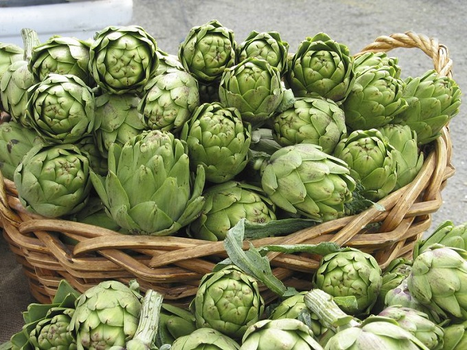 Crafted with artichokes, a rich recipe that full of fiber