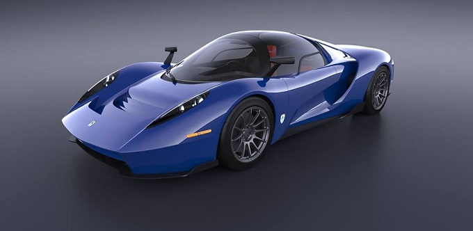 SCUDERIA CAMERON GLICKENHAUS WILL LAUNCH SUPERCAR WITH CENTRAL SEAT