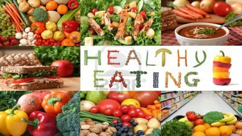 Recommendations to eat healthily