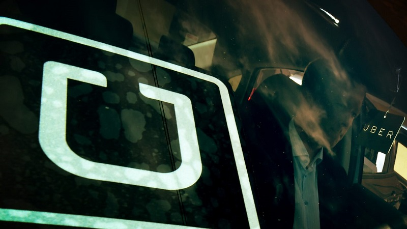 How to delete the travel history of Uber?