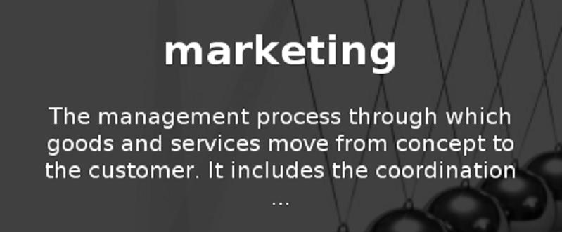 Marketing Definitions