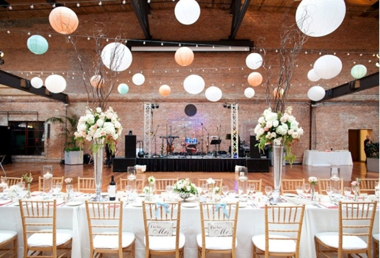 Original cheap wedding decoration ideas: 5 ways to decorate with paper