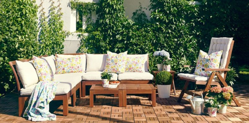 3 ideas for furnishing your garden or terrace