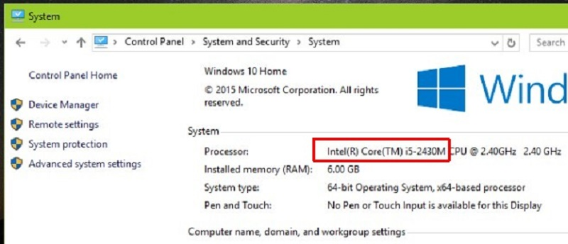 Know the processor before formatting Windows 7