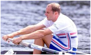 Sir Steve Redgrave. A man who certainly knows and oar from a paddle.