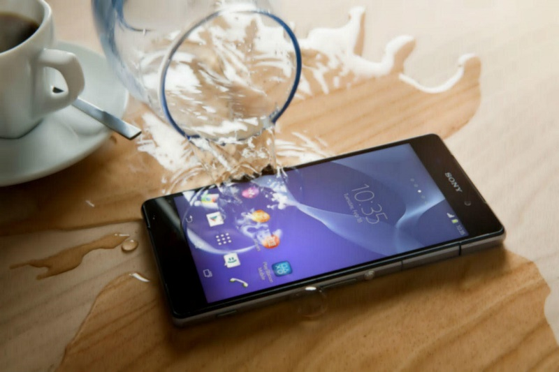Use water-resistant phones