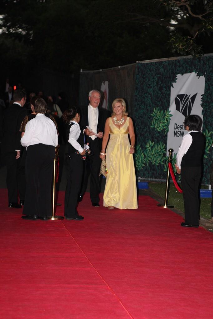 How do celebrities prepare for red carpet events?