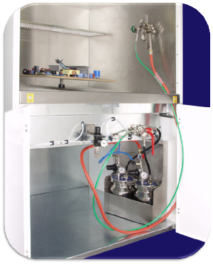 Four thermal spraying processes